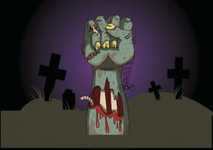 Jus Zombie hand