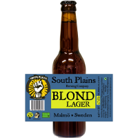 South Plains Blond Lager